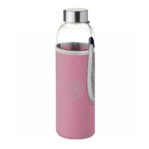steklenička-steklenička za vodo-roza steklenička